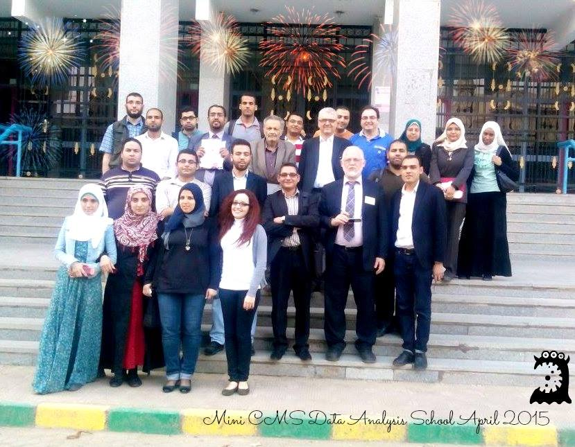 Mini CMS Data Analysis School in Egypt April 2015